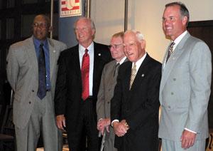 Five Hall of Famers:  Sandberg, Jenkins, Sparky, Kaline, Kell