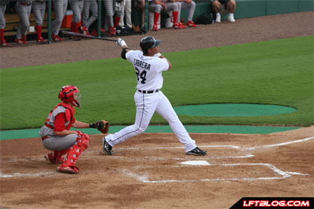 Miguel Cabrera homers against Florida Southern