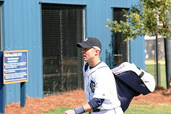 Brandon Inge on first day of Spring Training