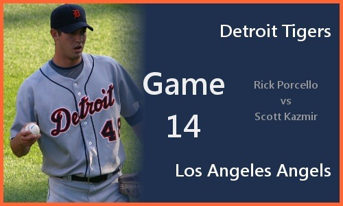 Post image for Game 2010.014: Tigers at Angels