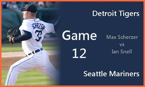 Post image for Game 2010.012: Tigers at Mariners