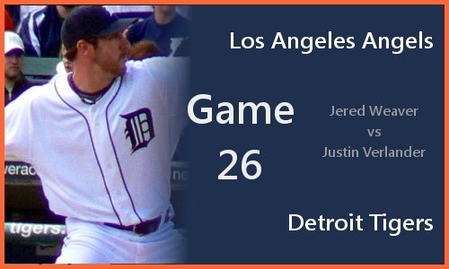 Justin Verlander vs Jered Weaver