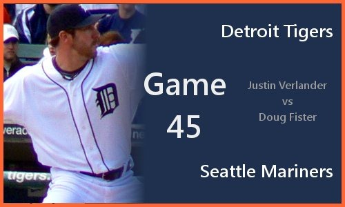 Post image for Game 2010.045: Tigers at Mariners