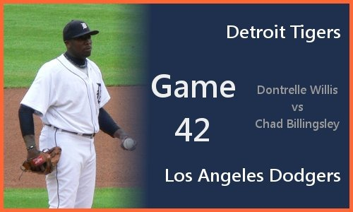 Post image for Game 2010.042: Tigers at Dodgers
