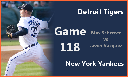 Post image for Game 2010.118: Tigers at Yankees