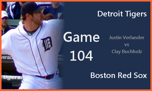 Post image for Game 2010.104: Tigers at Red Sox