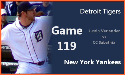 Post image for Game 2010.119: Tigers at Yankees