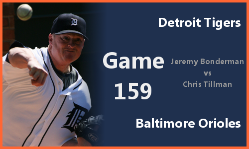 Post image for Game 2010.159: Tigers at Orioles
