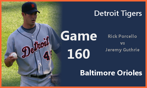Post image for Game 2010.160: Tigers at Orioles