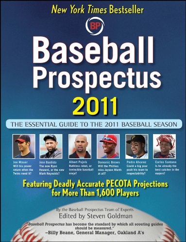 Post image for Baseball Prospectus' take on the 2011 Season