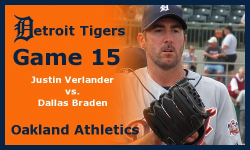 Post image for Game 2011.15:  Tigers at Athletics