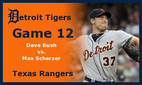 Post image for Game 2011.12: Rangers at Tigers