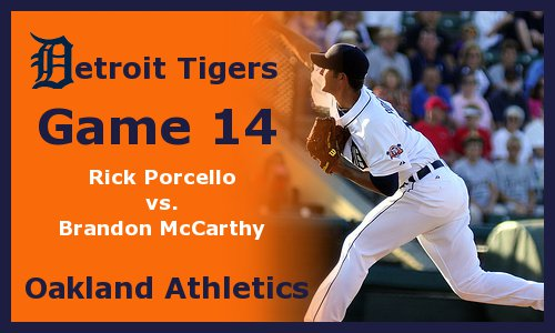 Post image for Game 2011.14:  Tigers at Athletics