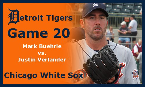 Post image for Game 2011.20:  White Sox at Tigers