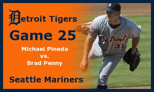 Post image for Game 2011.25: Mariners at Tigers