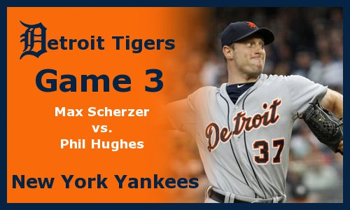 Post image for Game 2011.3: Tigers at Yankees