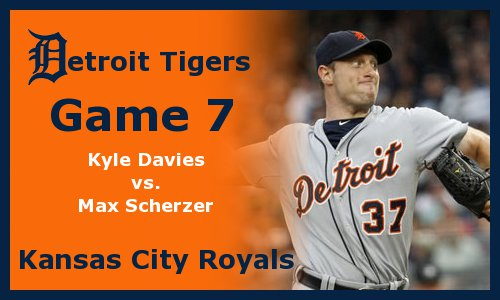 Post image for Game 2011.7: Royals at Tigers