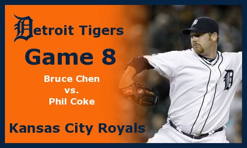 Post image for Game 2011.8: Royals at Tigers