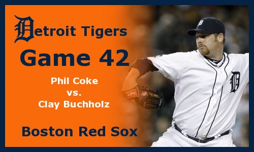 Post image for Game 2011.42:  Tigers at Red Sox