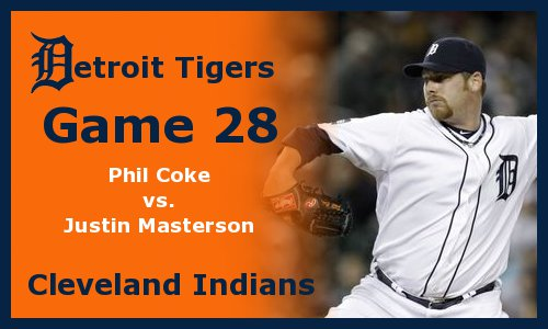 Post image for Game 2011.28: Tigers at Indians