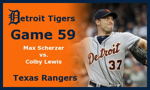 Post image for Game 2011.59:  Tigers at Rangers