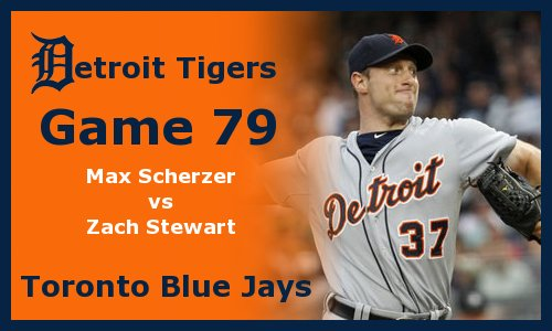 Post image for Game 2011.79:  Blue Jays at Tigers