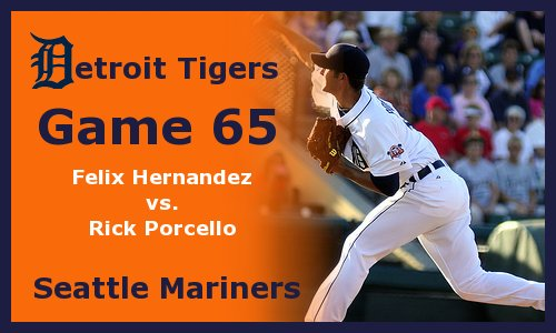 Post image for Game 2011.65:  Mariners at Tigers