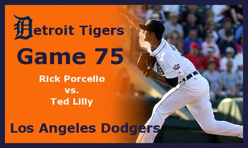 Post image for Game 2011.75: Tigers at Dodgers