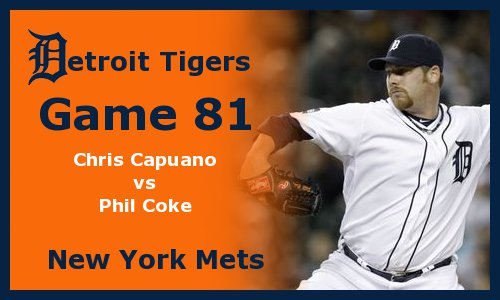 Post image for Game 2011.81: Mets at Tigers