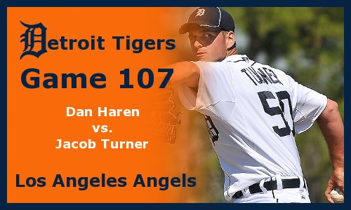 Post image for Game 2011.107:  Angels at Tigers