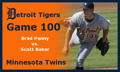 Post image for Game 2011.100:  Tigers at Twins
