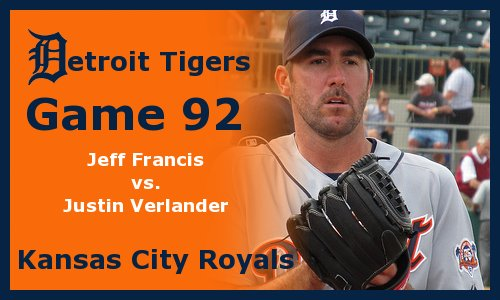 Post image for Game 2011.92:  Tigers at Royals