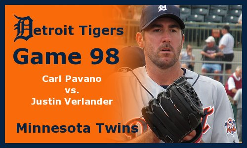 Post image for Game 2011.98:  Tigers at Twins