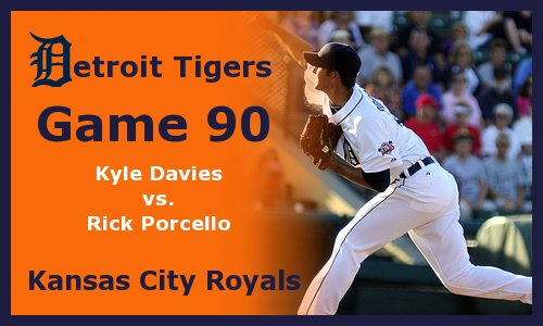Post image for Game 2011.90:  Tigers at Royals