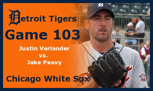 Post image for Game 2011.103: Tigers at White Sox