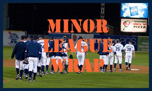 Post image for Minor League Wrap 8.12.2011