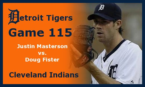 Post image for Game 2011.115:  Tigers at Indians