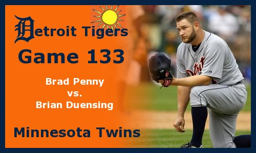 Post image for Game 2011.133:  Tigers at Twins