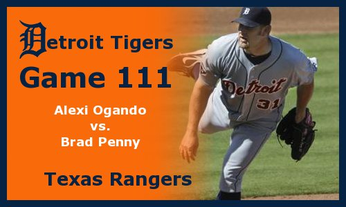 Post image for Game 2011.111: Rangers at Tigers