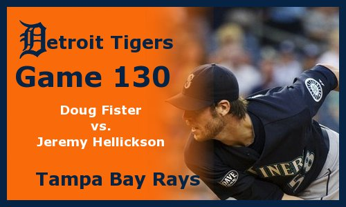 Post image for Game 2011.130: Tigers at Rays
