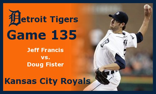 Post image for Game 2011.135: Royals at Tigers