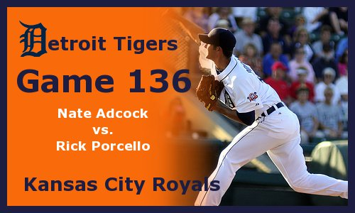 Post image for Game 2011.136: Royals at Tigers