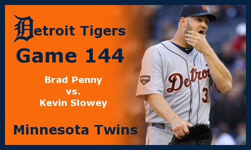 Post image for Game 2011.144:  Twins at Tigers