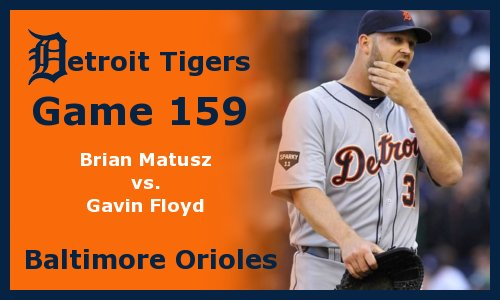 Post image for Game 2011.159:  Orioles at Tigers