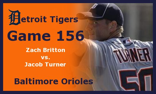 Post image for Game 2011.156:  Orioles at Tigers
