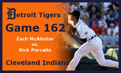 Post image for Game 2011.162: Indians at Tigers