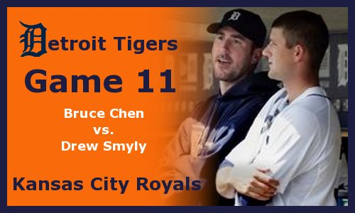 Post image for Game 2012.11: Tigers at Royals