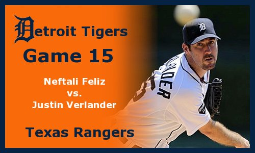 Post image for Game 2012.15: Rangers at Tigers