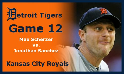 Post image for Game 2012.12: Tigers at Royals
