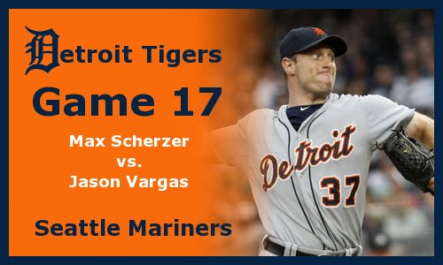 Post image for Game 2012.17: Mariners at Tigers
